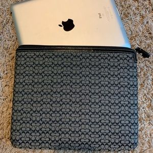 Coach IPad Sleeve/Case